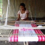 Bihu Gamucha in Traditional Handloom
