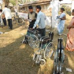 Aid to physically handicap