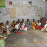 Meeting SHG Leaders on building Capacities