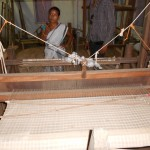 Mekhla Chadar in Traditional Handloom