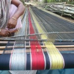 Rabha Traditional designs wand weaving styly
